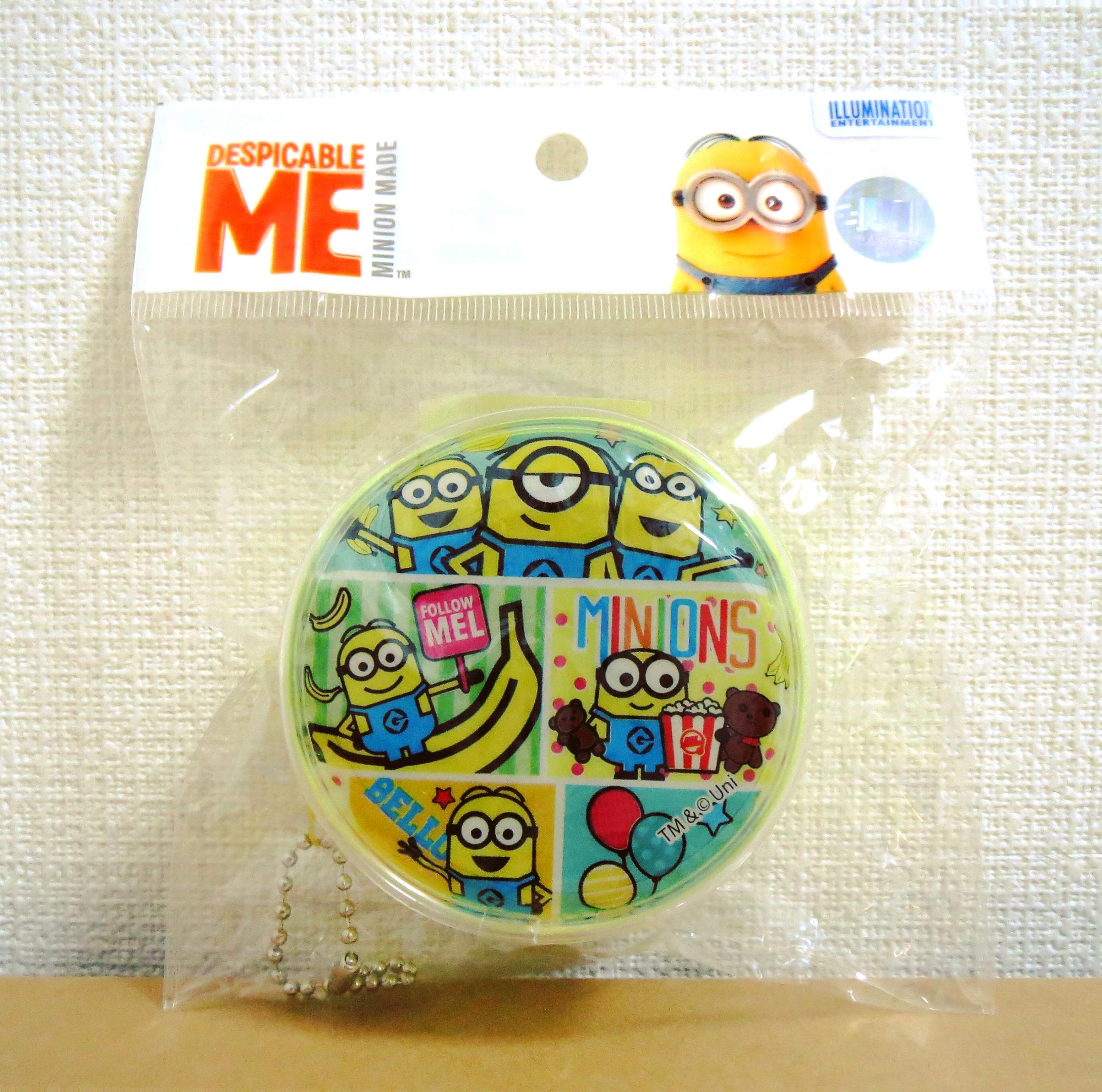 ミニオンズ丸型コインパース(ダイソー)